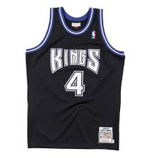 Details About Mens Mitchell Ness Nba Authentic Jersey Sacramento Kings 1998 Chris Webber