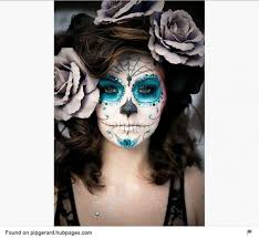half face sugar skull makeupsugar skull makeup half face you