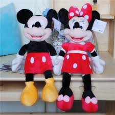 40cm hot sale High quality new Lovely Mickey Mouse Plush ... - Qoo10
