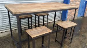 industrial counter height table. Rustic Counter Height Table Set Decorative Trend Intended For Bar Tables Decorating Industrial L