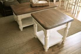 coffee table and end set surprising images white tables side furniture impact to your living roomesign with farmhouse sets for o