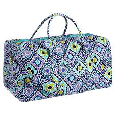 Quilted Sleepover Duffle Bag, Ruby Cool | PBteen &  Adamdwight.com