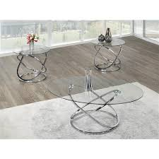 piece oval coffee table