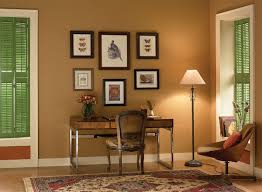 color schemes for office. home study in contrasting neutral colors. color schemes for office