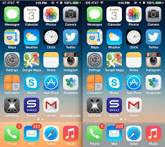 how to change the dock color