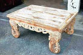 boat wood coffee table tables white glass whitewashed round nautical small whitewash and washed square