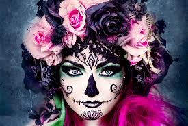 the day of the dead also known as día de los muertos is a colorful mexican holiday that celebrates life and also it is decidedly not