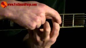 C Shape Barre Chord Chart C Form Barre Chord