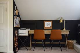 i don t want to add anymore darkness to our home office but the bedroom across the hall is an extension of the same design so it may be up for a facelift