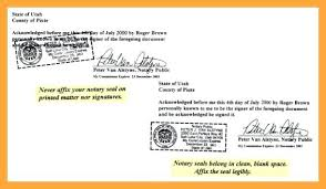 Samples Of Notary Letters Notary Cover Letter Notary Examples Choice Image Example Cover