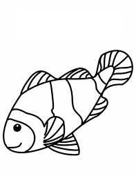 Small Picture Clown Fish Coloring Pages Syougitcom