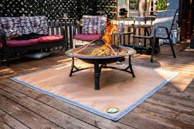 70 58 Protect Your Deck Lawn Or Campground From Embers Washable Heat Resistant Ember Mat And Grill Mat Under The Stove Fire Pit Mat Silicone Stove Fire Mat Retardant Fireproof Terrace Outdoor Cooking Tools Accessories Patio