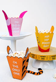 winnie the pooh free printable popcorn boxes for pooh tigger and piglet winnie the