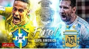 بث مباشر مباراة البرازيل و الارجنتين - YouTube