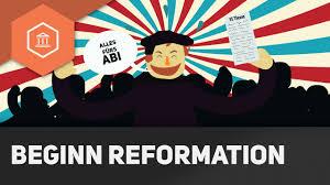 Die Reformation Zusammenfassung Abitur Beginn Mit Luther Das