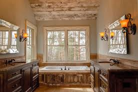 Image Rustic 2 Repurposed Dresser Vanity Five Star Franchising 10 Vintage Farmhouse Bathroom Remodel Ideas You Can Do On Budget