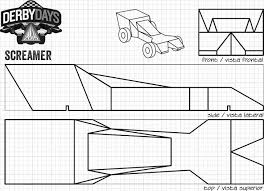 Pinewood Derby Truck Template New Download A Free Pinewood