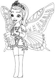 Small Picture Sofia The First Coloring Pages Princess Butterfly Sofia the First