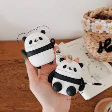 3D <b>Dolphin</b> Earphone <b>Case For Airpods</b> 2 <b>Case</b> Silicone Panda ...