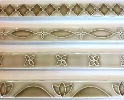 decorative bathroom tile borders border tiles for wall