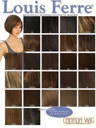 Louis Ferre Wig Colors Canadawig Com Wigs And Toppers