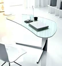 glass desks for desk top large regarding popular residence prepare durban