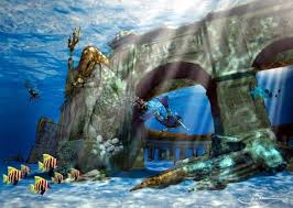 real underwater world. Fine World After Getting The Worldu0027s Largest And Scariest Waterslide At  Aquaventure Park In Atlantis Dazzling City Is All  With Real Underwater World R