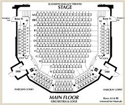 Carolina Seating Chart Theater Seating Chart Arts Center Of Coastal Carolina