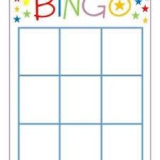 Family Game Night Bingo Bingo Card Template Math Bingo