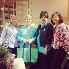 At Scott's with my pals @Sharon Stokes, @Polly Powers Stramm & Barbara  Smith • Mary Kay Andrews