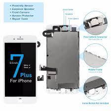 Für iPhone A1661 A1784 A1785 Komplette Bildschirm Für iPhone 7 Plus LCD  Display 5.5