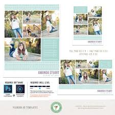 yearbook template yearbook ad templates senior ad graduation ad high school middle school college full page half page and quarter page included y20