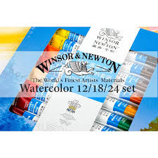 winsor newton 12 18 24 colors professional watercolor paints high quality painting pigment for artist