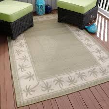 5 ft x 8 ft indoor outdoor area rug