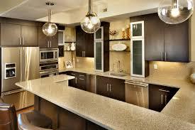 bright your kitchen with sparkling white quartz countertop15 sparkling