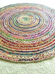rag rugs ikea round area circle rug chic hippie vegan colorful cotton uk rag rugs ikea