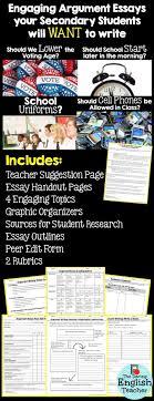 argument essay unit student choice four topics argumentative argument essay unit student choice four topics