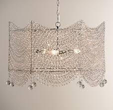 restoration hardware baby child coco crystal large chandelier