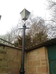 gas lamp post