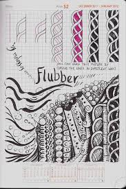Tangle Patterns Magnificent My Tangle Pattern Flubber Zentangle Life Imitates Doodles