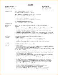 Resume New Graduate Mechanical Engineer Luxury Sample Resume Of A