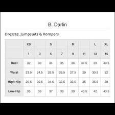 B Darlin Size Chart B Darlin Navy Fit Flare Dress