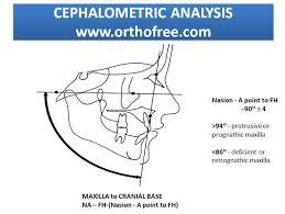 database ortho 22 2013 category orthodontic diagnosis acirc cephalometric analysis