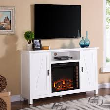 southern enterprises adderly electric fireplace tv stand white com