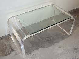 lucite coffee table nz
