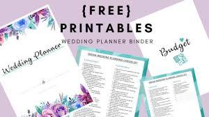 Printable Wedding Planner How To Plan A Wedding Diy Wedding Planning Binder