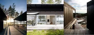 Scandinavian summer houses