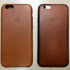 iphone 6s brown leather case usage