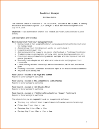 Resume Objectives For Fast Food Crew Awesome Resume Fast Food