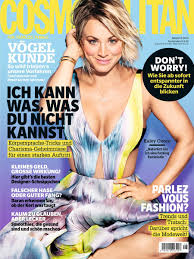 ▷ Kaley Cuoco (30) in Cosmopolitan: